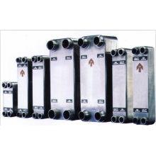 Moteur refroidi à l'eau AISI 316L échangeur de chaleur à plaques brasées