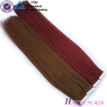 Extensions de cheveux blancs de cheveux de Vierge brésilienne de double extension de cheveux étirés