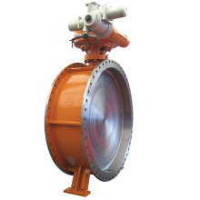 Flange Connection Electric Butterfly Valve