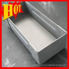 Barco de molibdênio puro usado para evaporação a vácuo
