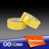 2016 high qaulity light yellow transparent bopp packing tape