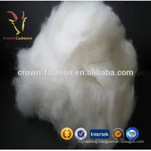 Mongolia 100% White Cashmere Precious Fibers Price
