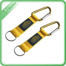 Mosquetón práctico popular de encargo barato del logotipo para la venta al por mayor