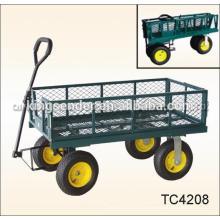 Vagão de jardim TC1840 / carrinho de ferramenta de jardim / carrinho de ferramenta de vagão