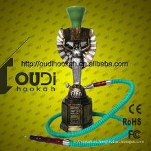 Nuevas pipas de cristal del cigarrillo de la venta al por mayor del shisha del hookah del diseño pipa khalil mamoon hookah