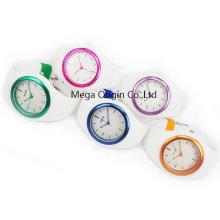 Movimento de Japão dos relógios de pulso do silicone das mulheres impermeáveis de 3ATM
