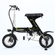 Foldaway Electric Bike Black