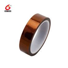 Fita de Kapton adesiva do silicone dourado do dedo da proteção
