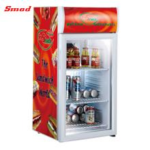 Mini refrigerador de la exhibición de Pepsi de la puerta de cristal SC52B