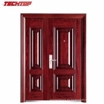 TPS-073sm puerta de entrada de acero puerta principal puerta de entrada de seguridad diseño