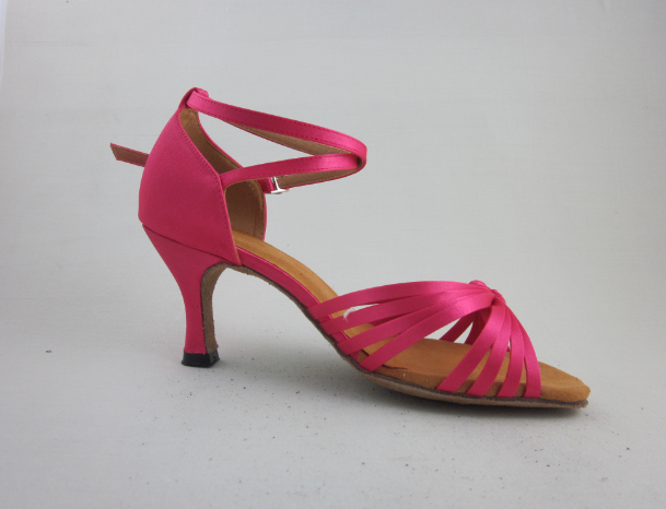 Pink Latin Shoes For Girls