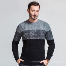 Suéter personalizado de la cachemira de las lanas del jersey del jersey del nuevo proveedor de China para los hombres