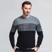 China Supplier Custom Latest Designs Pullover Wool Cashmere Sweater For Men