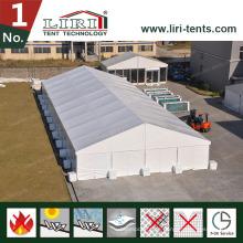 Glaswände Dachabdeckungen und Glastür ein Rahmen-Zelt für heiße Verkäufe