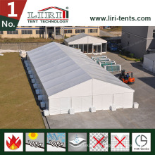 40X70m Large Big Tent with White PVC Roof Covers and Aluminum Frames