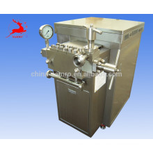 Stainless steel sanitary Homogenizer, with 1000L/h capacity