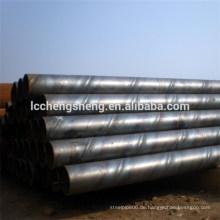 ASTM A134 SSAW Spiral geschweißt Stahlrohr