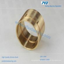 Bucha SAE660 do Gunmetal, rolamento de bronze fundido C86300, bucha de bronze sem óleo