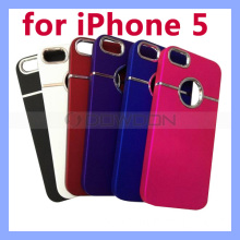 Chrome Hard Plastic Case for iPhone 5s 5g Back Cover