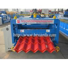 Feuille de toiture métallique en acier de couleur Roll Machines de formage