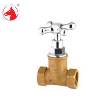 Guaranteed quality brass stop valve