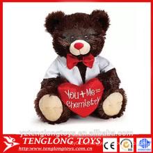 Плюшевый медвежонок плюшевый мишка валентин на день святого Валентина