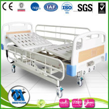BDE215 3- function medical electric bed with manual crank together