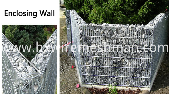 application of welded gabions