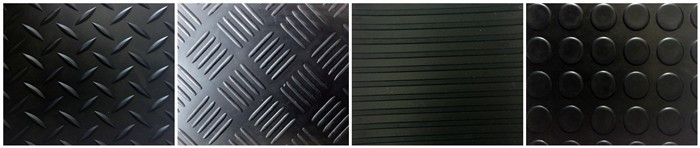 Anti Slip Rubber Mat For Garage