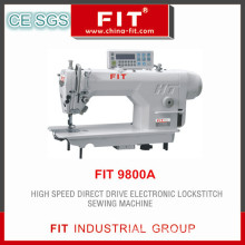 High Speed Direct Drive Electronic Lockstitch Sewing Machine