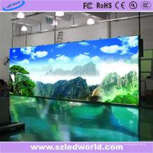 Pared video a todo color de alquiler interior P4.81 LED para hacer publicidad
