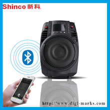 Alto-falante de rádio portátil HiFi Bluetooth fábrica fábrica de certificado de CE