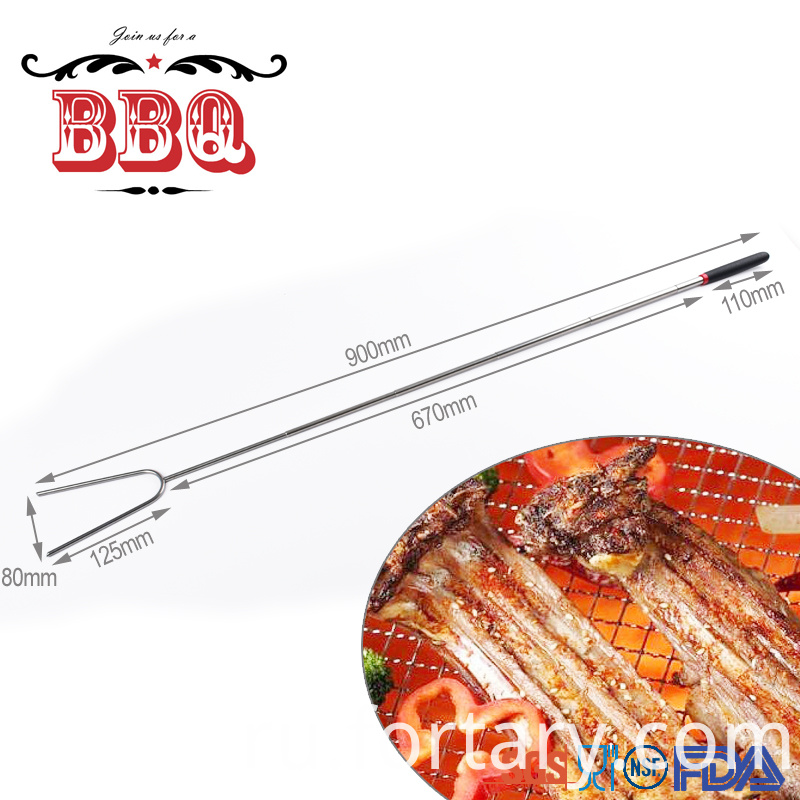 Extendable Barbecue Fork
