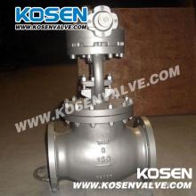 Válvula de globo de acero de molde de BS 1873 (J541H)