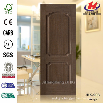 JHK-S03 12MM Pommele Grain With Good Quality Best Sale Southeast Asia HDF Chestnut Veneer Door Panel