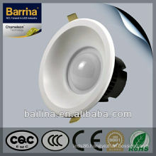 6W ROHS round led downlights/3 inch led down light