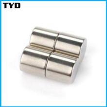 China Fabricante do ímã NdFeB para N42 Neodymium Cylinder Magnet