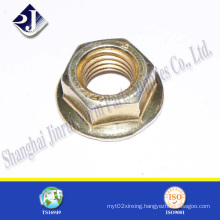 Ts16949 Hex Flange Nut for Automobile Grade 8