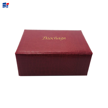 Best Price for for Book Shape Electronic Paper Box Leather cosmetic gift paper box supply to France Importers