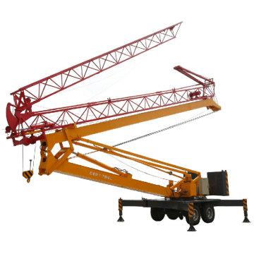 2.5 ton QTK25 quick erected tower crane