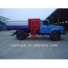 Dongfeng 10cbm camión de basura con basura