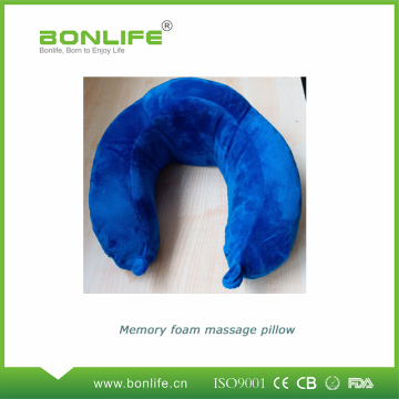 Memory Foam Neck Massage Gối