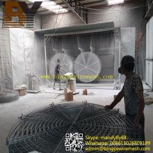 Klimaanlage Lüfterhaube Grill Lüfterhaube Metall Lüfterschutz
