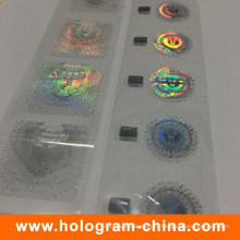 Пользовательские Анти-подделка 2Д 3Д голограммой горячего тиснения