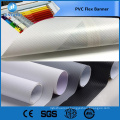 Trade Assurance 440gsm 13OZ 250 * 250D 36 * 36 lado duplo printout blockout pvc flex bandeira para publicidade