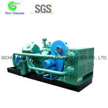 2.2-21MPa Presión de gas Compresor alternativo de pistón de gas natural
