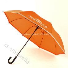 """Selbstöffnender 23 """"schwarzer Fiberglas-Werbungs-Regenschirm für Förderung (YSS0122)"""