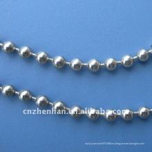 Componentes de la cortina-bola de acero inoxidable cadena-metal bola cortina cadena-4.5mm vertical ciego cadenas de cuentas