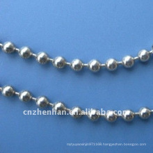 curtain components-stainless steel ball chain-metal ball curtain chain-4.5mm vertical blind bead chains