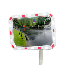 KL Square Reflection With Warning Convex Mirror Highway and Corner Road, Safety Reflection Mirror/